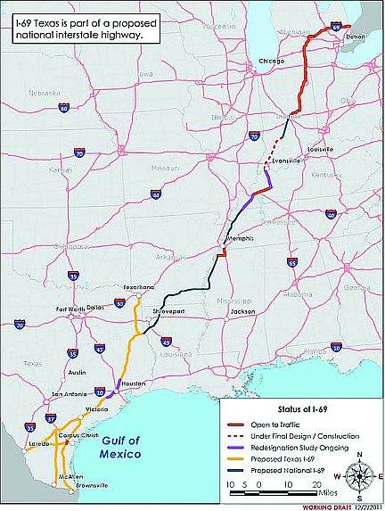 I69 Arkansas Map.I 69 Highway For Tomorrow